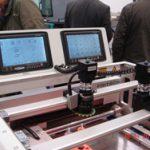 Na linha de SMD destaque da Printer para pasta de solda FRITSCH